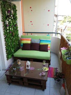 Balcony Pallet Lounge Set Paradise