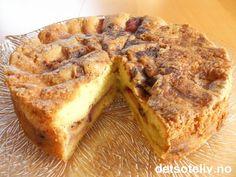 Norsk eplekake | Det søte liv Norwegian Food, Norwegian Recipes, Banana Bread, French Toast, Food And Drink, Baking, Eat, Breakfast, Desserts