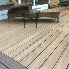 Deck Picture in Amityville, NY - Picture 7386 Leaky Basement, Deck Pictures, Outdoor Tables, Outdoor Decor, Backyard Landscaping, Decks, Landscape Design, Exterior, Outdoor Furniture