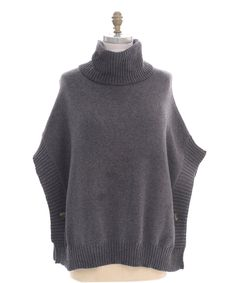 Look what I found on #zulily! Gray Poncho - Plus by Pink Ocean #zulilyfinds