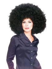 Super Giant Huge Afro Wig Black Fancy Dress Costume Accessory