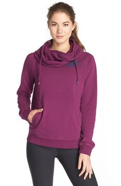 Nike 'Rally' Funnel Neck Hoodie available at #Nordstrom