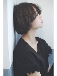 Short Hair Tomboy, Short Hair With Bangs, Girl Short Hair, Short Curly Hair, Short Hair Cuts, Medium Hair Styles, Curly Hair Styles, Asian Haircut, Shot Hair Styles
