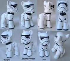 Custom Star Wars My Little Ponies Are Out Of This World