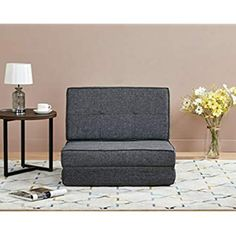 Amazon Basics, Schlafsessel, 78 x 82 x 58, Rot: Amazon.de: Küche & Haushalt Chair Bed, Floor Chair, Dark Grey, Love Seat, Accent Chairs, Couch, Flooring, Furniture, Home Decor