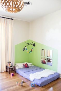 Bonita decoración infantil para la habitación del niño