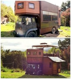 The Homestead Survival | Road Legal Truck That Transforms Into A Tiny House Castle | Tiny House http://thehomesteadsurvival.com