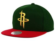 newest 90852 b65ff Houston Rockets Mitchell   Ness NBA Holiday Collection Snapback Hat ( 20) Houston  Rockets,