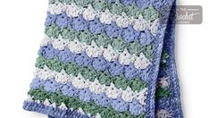 Yarnspirations is the spot to find countless free easy crochet patterns, including the Bernat Tippy Toes Crochet Blanket. Browse our large free collection of patterns & get crafting today! Crochet Cable, Crochet Dishcloths, Free Crochet, Crochet Baby Jacket, Baby Blanket Crochet, Crochet Blankets, Baby Afghans, Baby Blankets, Afghan Blanket