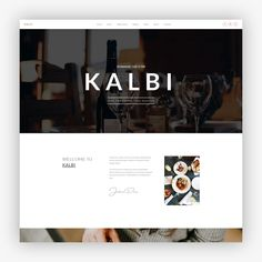 Restaurant Cafe Bar WordPress Theme - Restaurant WordPress Theme -  Kalbi Website Template