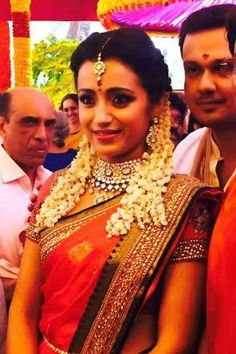 Jewellery Designs: Actress Trisha Engagement