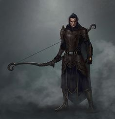 ArtStation - Wood Elf - Archer Concept, Alfonso Maesa