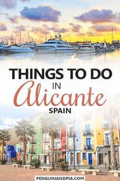 Looking for great things to do in Alicante, Spain? In this guide, we share our top tips and recommendations for attractions you shouldn't miss in this beautiful Spanish city! #alicante #spaintravel #traveltips Bilbao, Cool Places To Visit, Places To Travel, Granada, Backpacking Spain, Alicante Spain, Andalucia Spain, Valencia, Spain Travel