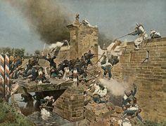Erstürmung des Landauer Tores zu Weißenburg am 4. August 1870