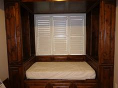 Shutters Shutters, Bed, Furniture, Home Decor, Sunroom Blinds, Homemade Home Decor, Shades, Stream Bed, Home Furnishings