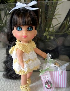 I think this was the Little Kiddle doll that I had when I was a kid.  She was my favorite!!! :)