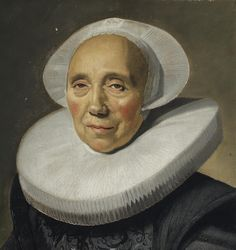 Frans Hals. Ritratto di anziana signora. Collezione privata