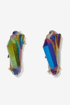 Midnight Oil Earrings #earrings