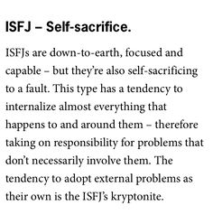 Isfj Introvert Personality, Personality Types, Introverted Sensing, 16 Personalities, Empathic, Esfj, Look At You, Wisdom, Feelings