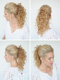 30 Curly Hairstyles in 30 Days – Day 29                                                                                                                                                                                 More