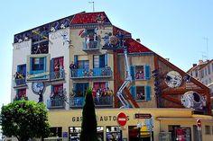 Les façades en trompe l'oeil de Lyon