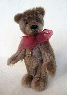 R005 Matty -- originální mohérový medvídek / Zboží prodejce ivuskah   Fler.cz