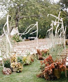 We have shared our love for unique wedding lights and chinoiserie details, but today we're letting another decor idea take the stage: dyed flowers! Fruit Wedding, Garden Party Wedding, Fall Wedding, Wedding Ceremony, Wedding Venues, Wedding Flowers, Autumn Weddings, Green Wedding, Wedding Backdrops