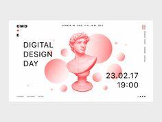 CMD promo website by Sochnik