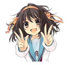 The Melancholy of Haruhi Suzumiya - LINE Stickers
