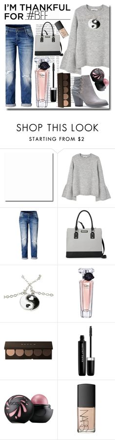 """I'm Thankful for... My BFF's!"" by emmy-124fashions ❤ liked on Polyvore featuring Oris, MANGO, Nine West, Lancôme, Marc Jacobs, NARS Cosmetics and imthankfulfor"