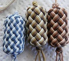 Globe Knots Over Corks ML: Make your own survival grenades, with different suff. Ex: fire/water, medicine, knife/blanket, hunting/fishing.