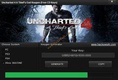 Uncharted 4 A Thief's End Keygen (Free CD Keys)