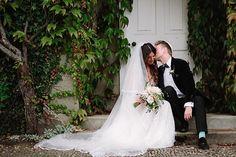 A romantic English Country garden Jew-ish wedding | Smashing the Glass Jewish wedding blog