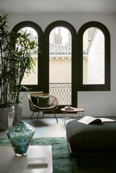 Un appartement design avec vue sur les canaux