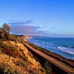 Del Mar, CA - neighboring city of ours. Beautiful! We are lucky to live and work in such a beautiful place.