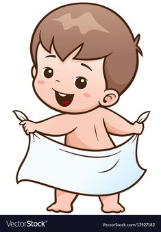 Photo about Vector Illustration of Cartoon Baby take a bath. Illustration of sma… Photo about Vector Illustration of Cartoon Baby take a bath. Illustration of small, baby, romper – 80767159 - Unique Baby Bathing