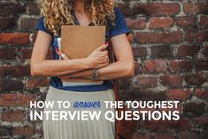 The scary interview questions you'll likely be asked, and EXACTLY how to answer them! - http://skillcrush.com/2015/10/15/answer-the-toughest-tech-interview-questions/