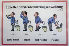 Nápisy na WC