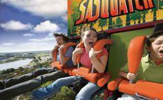 Six Flags Great Escape & Splashwater Kingdom!