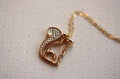 A squirrel necklace. Where can I find one just like this? ^^