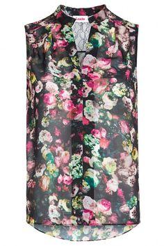 Louche Theodora Floral Vest