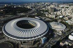 Estádio do Maracanã, situado na zona oeste do Rio Foto: Pedro Martins/Agif / Gazeta Press