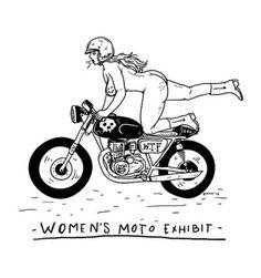 I just make a new work for womensmotoexhibit.com