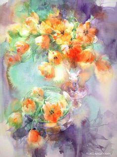adelaparvu.com despre picturi acuarela, artist Yuko Nagayama (14)