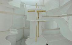 Yangzhou University students designed a fully functioning 43-Square-Foot Tiny House Prototype.
