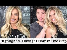 Highlight and Lowlight Blonde Hair in One Step without Bleach - Guy Tang