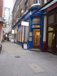 The Glass House in Leadenhall Market London, England