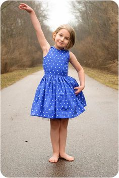 The Appelstroop Dress Sewing Pattern | YouCanMakeThis.com