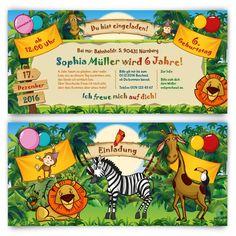 Einladungskarten Für Kinder Zum Geburtstag   Zoo Besuch #geburtstag # Einladung #geburtstagseinladung #kindergeburtstag