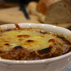 The very BEST French Onion Soup recipe given to us by my favorite chef, Chef Chris Devine! :) Here's the recipe: http://noramurphycountryhouse.com/2014/12/foodie-friday-soupe-a-loignon-francaise/  #FrenchOnionSoupRecipe #foodie